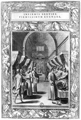 Hospitallers of the Order of St. John of Jerusalem Caring for the Sick