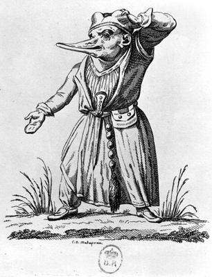 A Monster, from 'Les Songes Drolatiques de Pantagruel' by Francois Rabelais