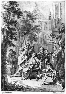 Act V Scene vii from 'King John' by William Shakespeare