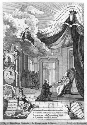 Allegory of the Report Given to Louis XVI