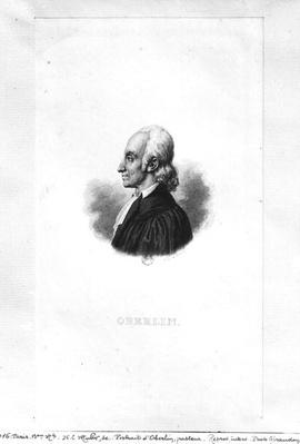 Portrait of Jean Frederic Oberlin