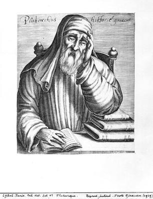 Portrait of Plutarch