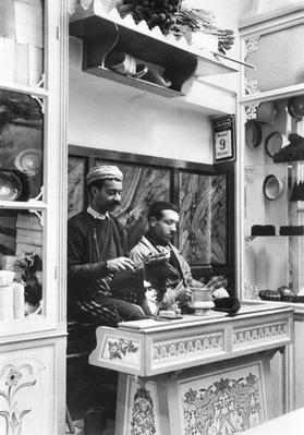 Fabrication of fez, c.1900