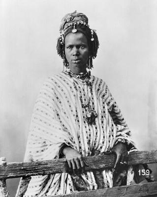 Senegalese woman, c.1900