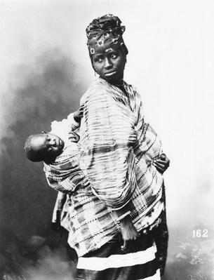 Senegalese Mother and Child, c.1900