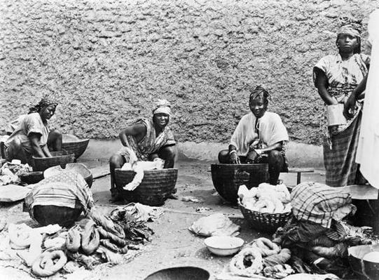 Washing, Senegal, c.1900