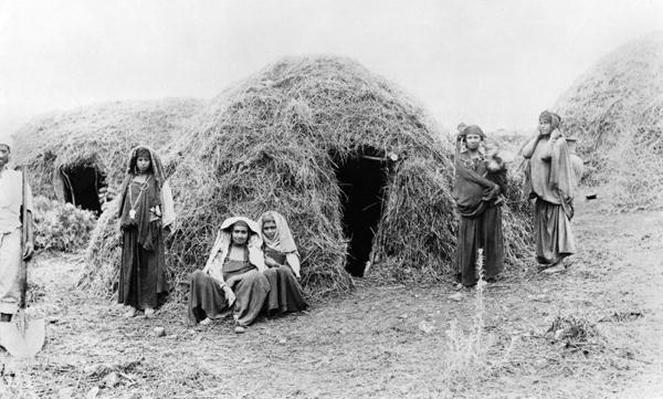 Berber village near Tunis, c.1900