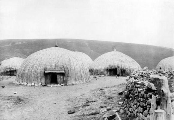 Kaffir Huts, South Africa, c.1914