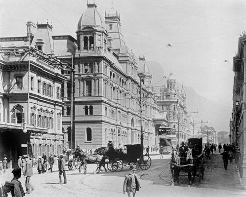 Cape Town: New Adderley Street, c.1914