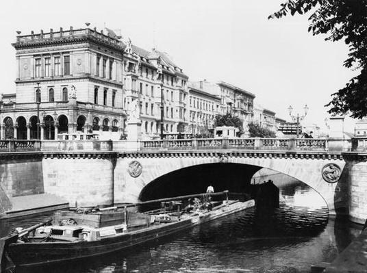 The Belle-Alliance Bridge, Berlin, c.1910