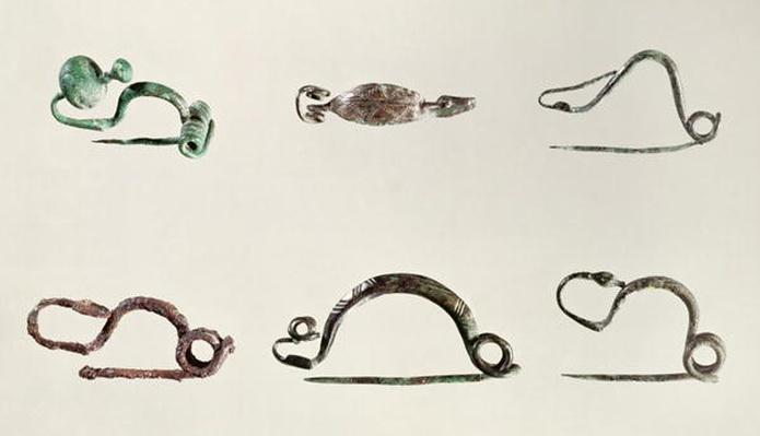 Clasps, found at Marne