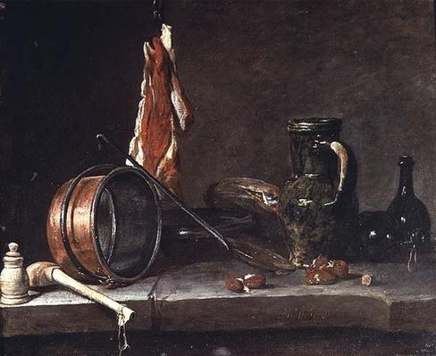 Still life: Feast Day Menu, 1731