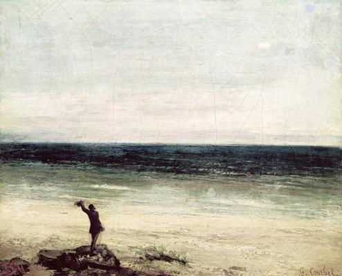 The Artist on the Seashore at Palavas