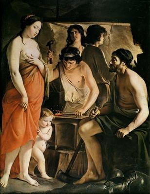 Venus in Vulcan's Forge, 1641