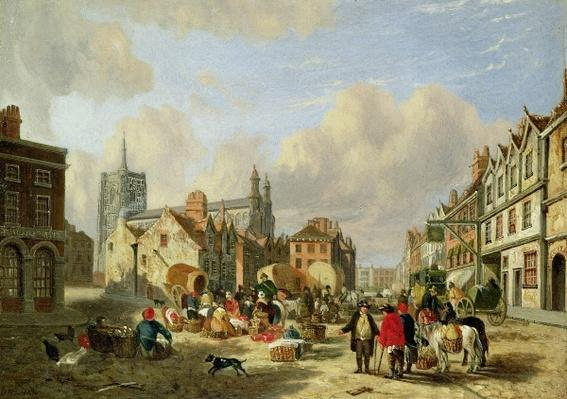 The Haymarket, Norwich, 1825