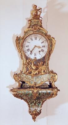 Louis XV style cartel clock