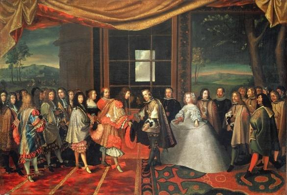 Meeting between Louis XIV