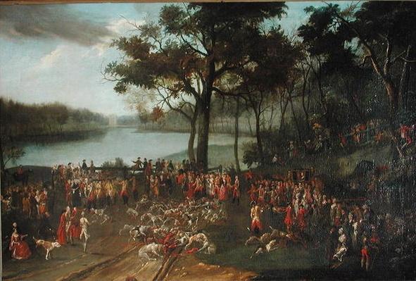 The Quarry at the Etangs de Commelles in 1771