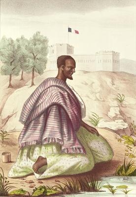 A Senegalese Marabout, from 'Les Esquisses Senegalaises' by Abbe Boilat, 1853