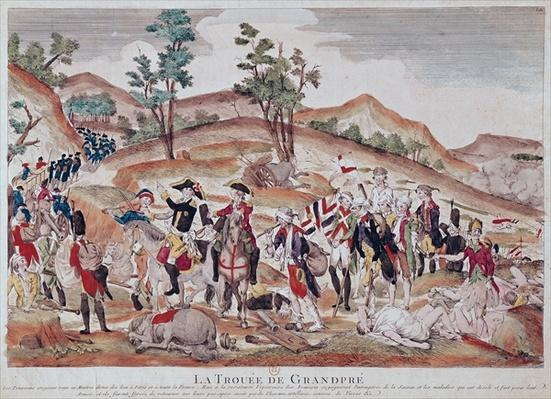 The Breach of Grandpre, October 1792