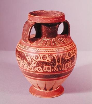 Corinthian style amphora, c.600 BC
