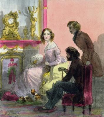 The Duchess, plate 13 from 'Les Femmes de Paris', 1841-42