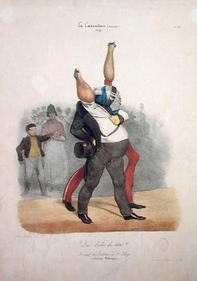 'What Funny Heads!', caricature of Louis-Philippe d'Orleans