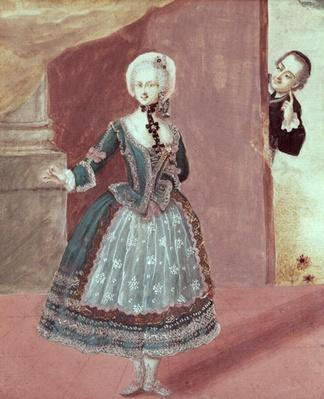 An Actress in the Role of Rosine in 'The Barber of Seville' by Pierre-Augustin Caron de Beaumarchais