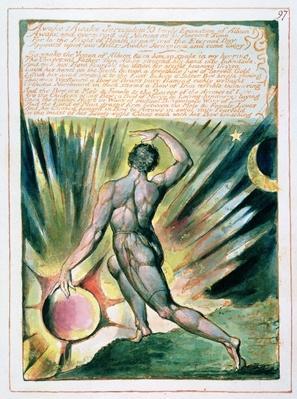 'Awake! Awake Jerusalem...', plate 97 from 'Jerusalem'