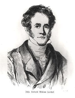 Portrait of Sir John Frederick William Herschel