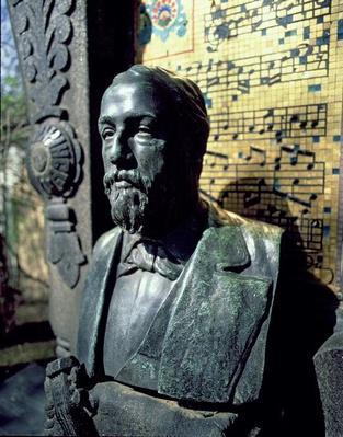Portrait bust of Alexander Borodin