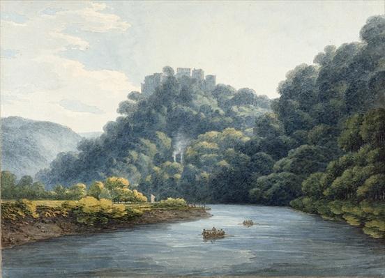 Goodrich Castle on the Wye
