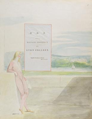 Design 13 for 'Ode on a Distant Prospect of Eton College' from 'The Poems of Thomas Gray', published 1797-98