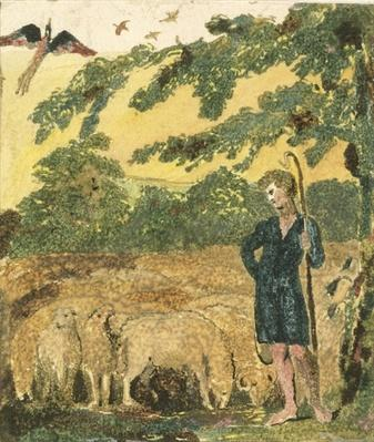 The Shepherd, from 'Songs of Innocence', 1789