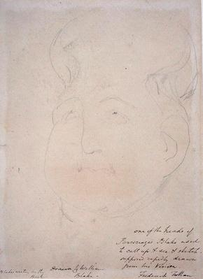 A Visionary Head, 1819-20