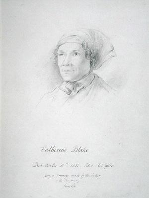 Portrait of Catherine Blake