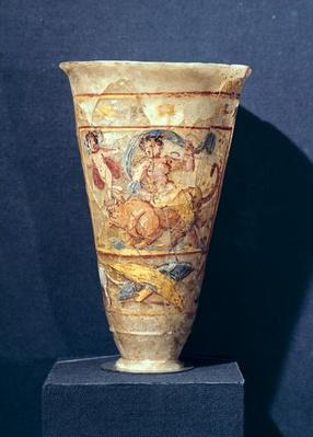 Vase depicting the Rape of Europa, Greco-Buddhist Style, from Begram