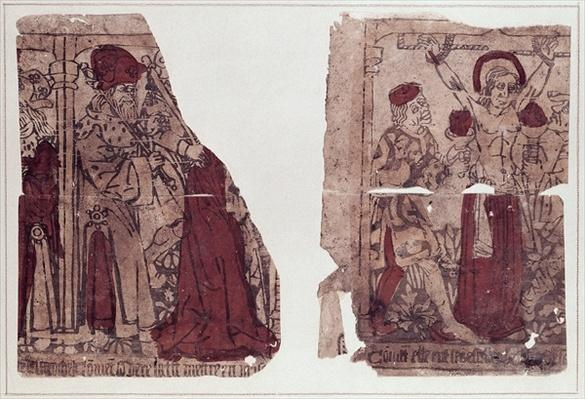 Two scenes of the martyrdom of St. Regina