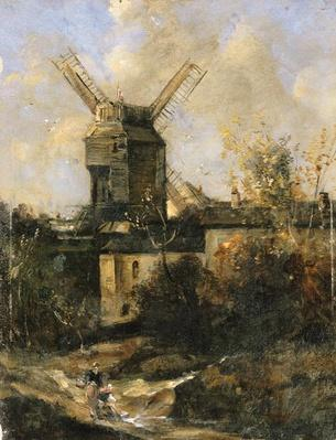The Moulin de la Galette, Montmartre, 1861