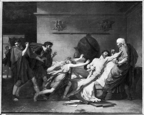 The Death of Cato of Utica