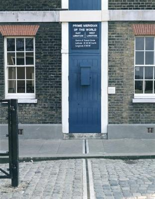 VIew of the meridian line