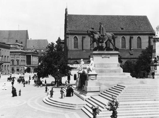 View of Schweidnitz, Breslau