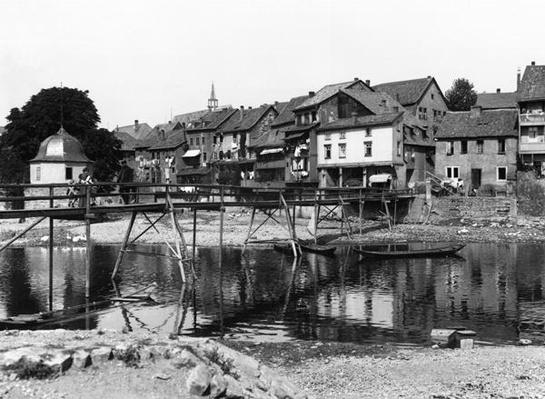 The River Nahe, Bad Kreuznach, c.1910