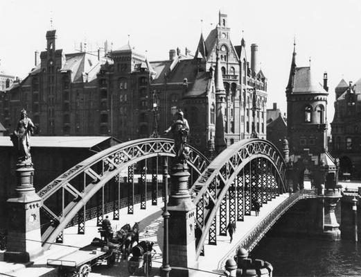 Bridge in the Speicherstadt