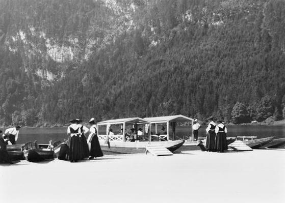 Boats at Konigssee, c.1910