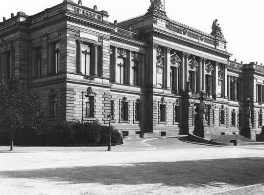 The Palace of the regional delegation at Strasbourg, c.1910