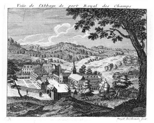 General view of the Abbey of Port-Royal des Champs, 1709