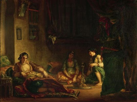 The Women of Algiers in their Harem, 1847-49