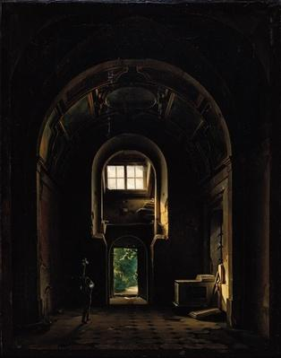 Interior of the Chapel of Saint-Philippe in the Eglise des Feuillants in Paris, 1814