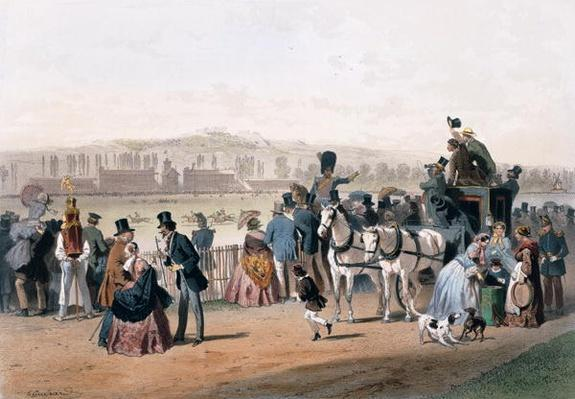 Racecourse at the Bois de Boulogne